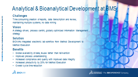 DS Biovia Success story slide 17